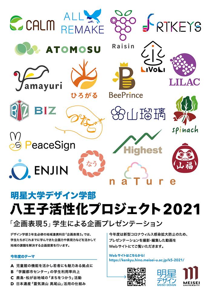 八王子活性化プロジェクト2021 webサイト開設